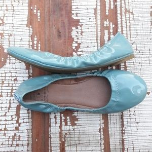 Lucky brand Emmie Flat patent leather 8